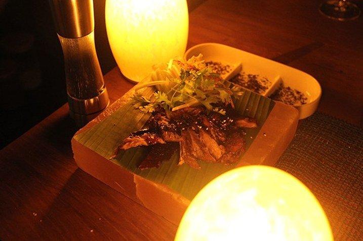 Maldivler'de Akşam Yemeği