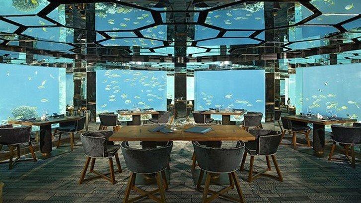 Maldivler Denizaltı Restoran