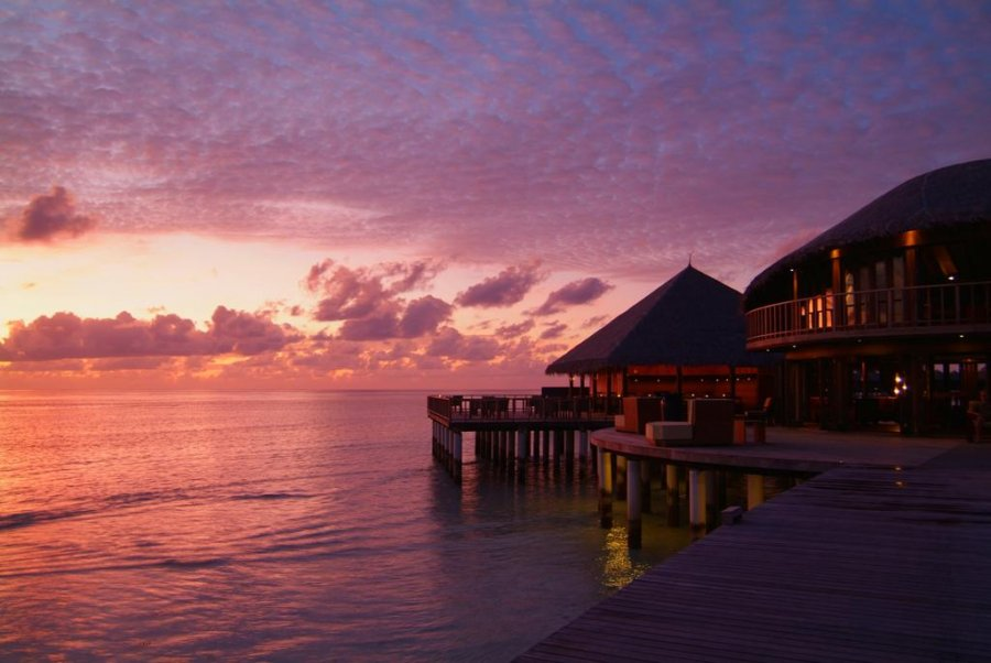 Maldivler Gün Batımı